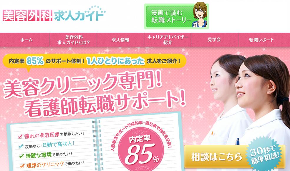 美容外科求人ガイドを利用者した5人が答えた口コミや評判を掲載!